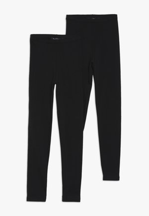 2 PACK - Leggings - schwarz