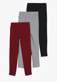 Blue Seven - 3 PACK - Leggings - Trousers - blau/magenta/nebel - 1