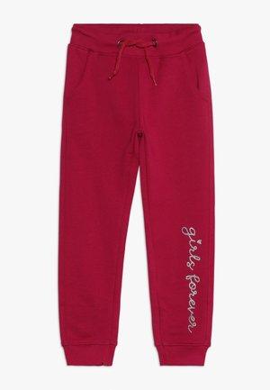 Teplákové kalhoty - magenta