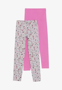 Blue Seven - 2 PACK - Leggings - pink/nebel - 3