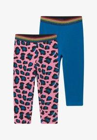 Blue Seven - CAPRI 2 PACK - Shorts - blue/pink - 3