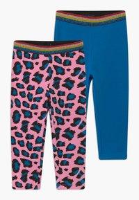 Blue Seven - CAPRI 2 PACK - Shorts - blue/pink - 0