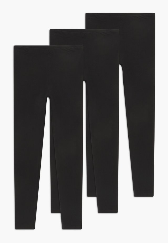 TEENS 3 PACK - Leggings - Trousers - schwarz