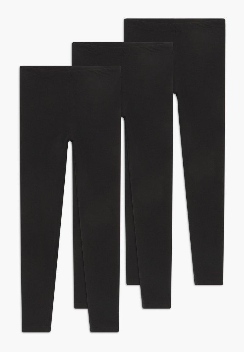 Blue Seven - TEENS 3 PACK - Legging - schwarz