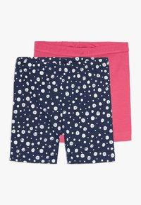 Blue Seven - BIKER 2 PACK - Shorts - pink/dunkelblau - 0