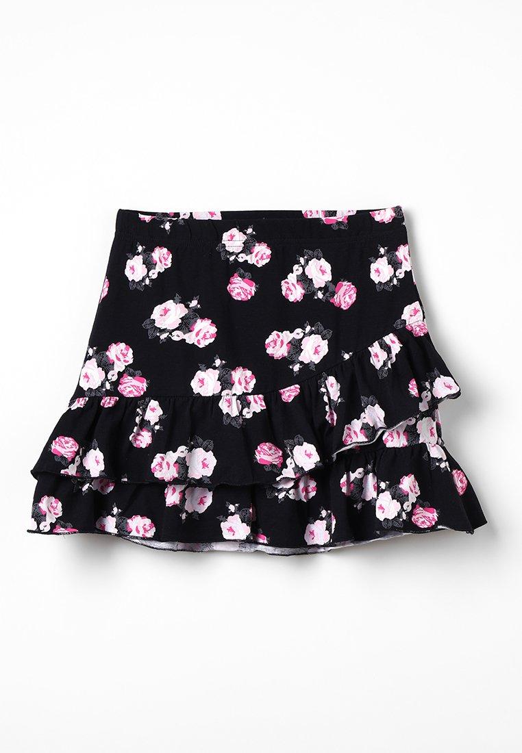 Blue Seven - Mini skirts  - schwarz