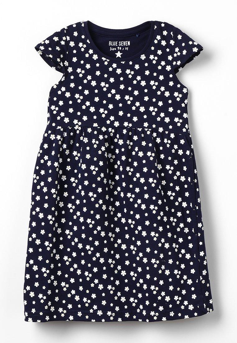 Blue Seven - Žerzejové šaty - nachtblau