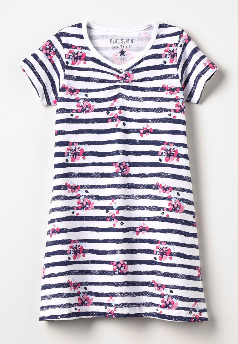 Blue Seven - Žerzejové šaty - weiß