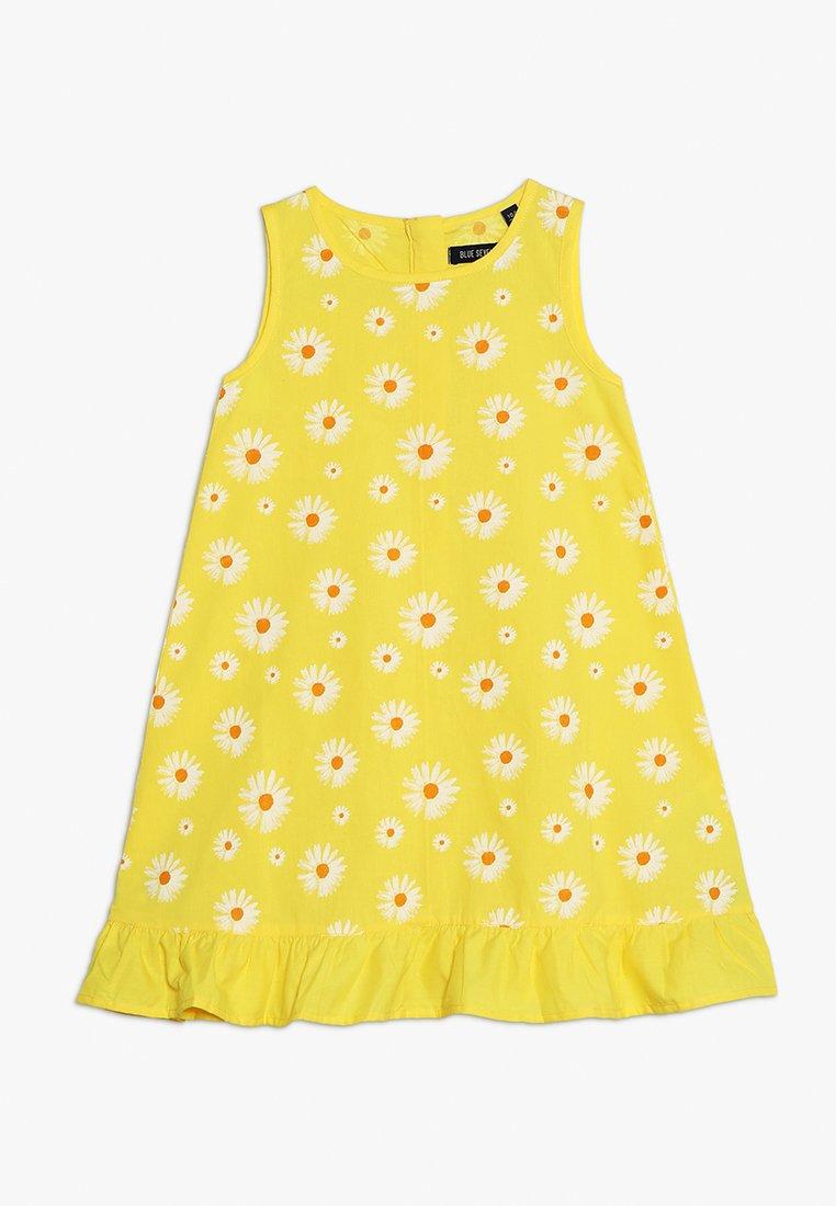 Blue Seven - OHNE ARM - Day dress - gelb