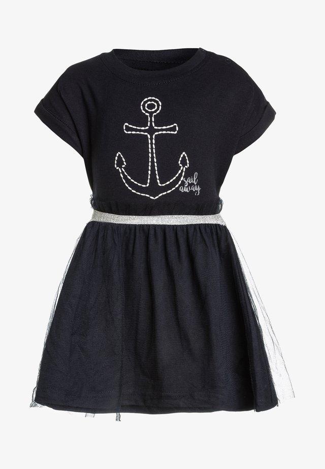 MINI BABY - Jerseykleid - dunkelblau
