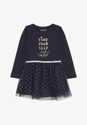 Jerseyklänning - dunkelblau