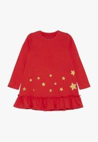 Blue Seven - DRESS STAR - Jerseyklänning - fiery - 0