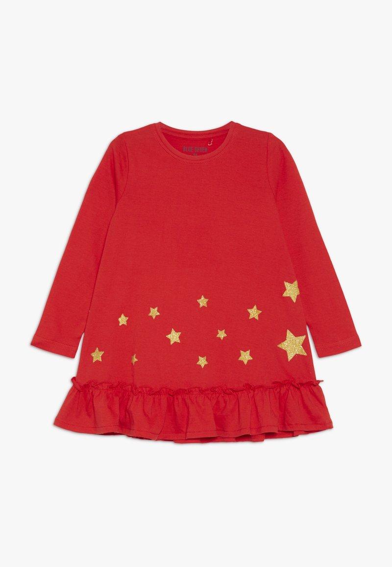 Blue Seven - DRESS STAR - Jerseyklänning - fiery