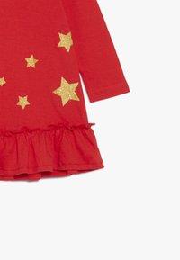 Blue Seven - DRESS STAR - Jerseyklänning - fiery - 3