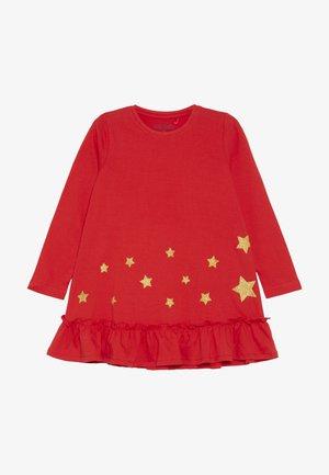 DRESS STAR - Žerzejové šaty - fiery