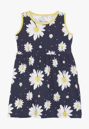 Žerzejové šaty - dunkel blau