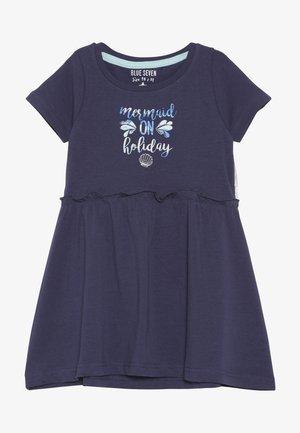 Jersey dress - dunkelk blau