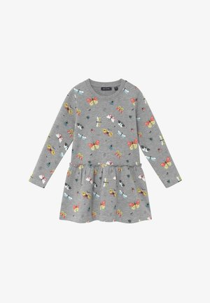 KIDS BUTTERFLIES  - Denní šaty - mittelgrau orig