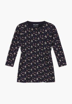 KIDS FLORAL PRINT - Jersey dress - nachtblau