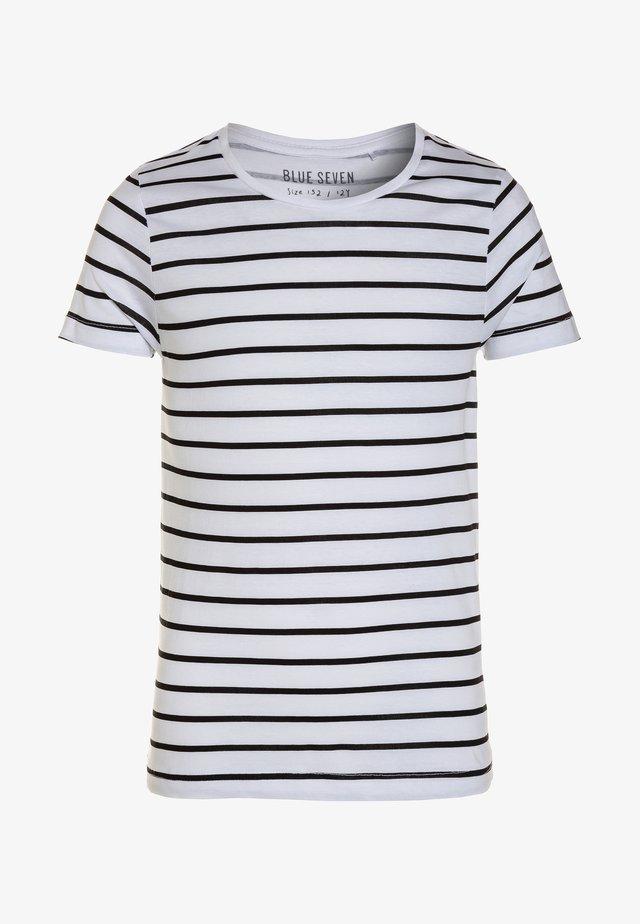 RUNDHALS - T-Shirt print - weiß