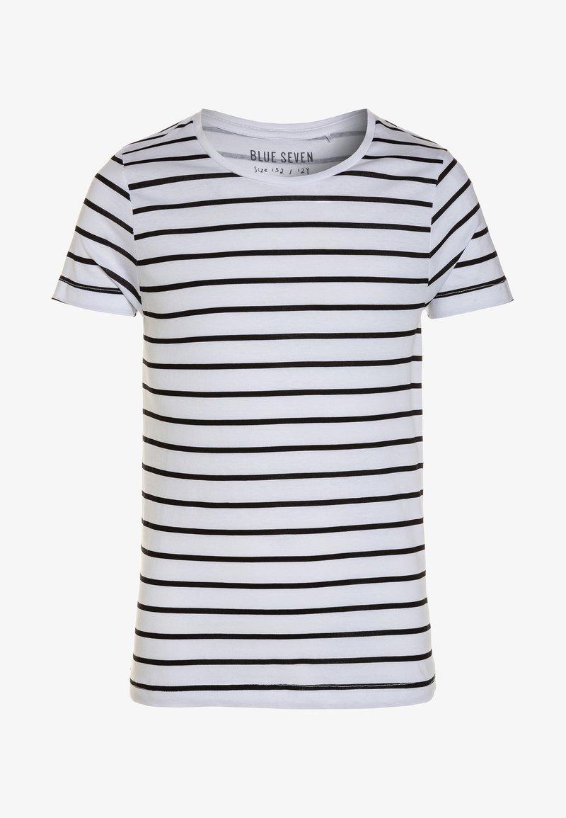 Blue Seven - RUNDHALS - T-shirts print - weiß