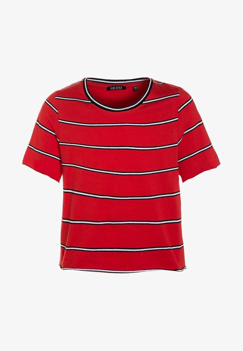 Blue Seven - T-shirts print - rot