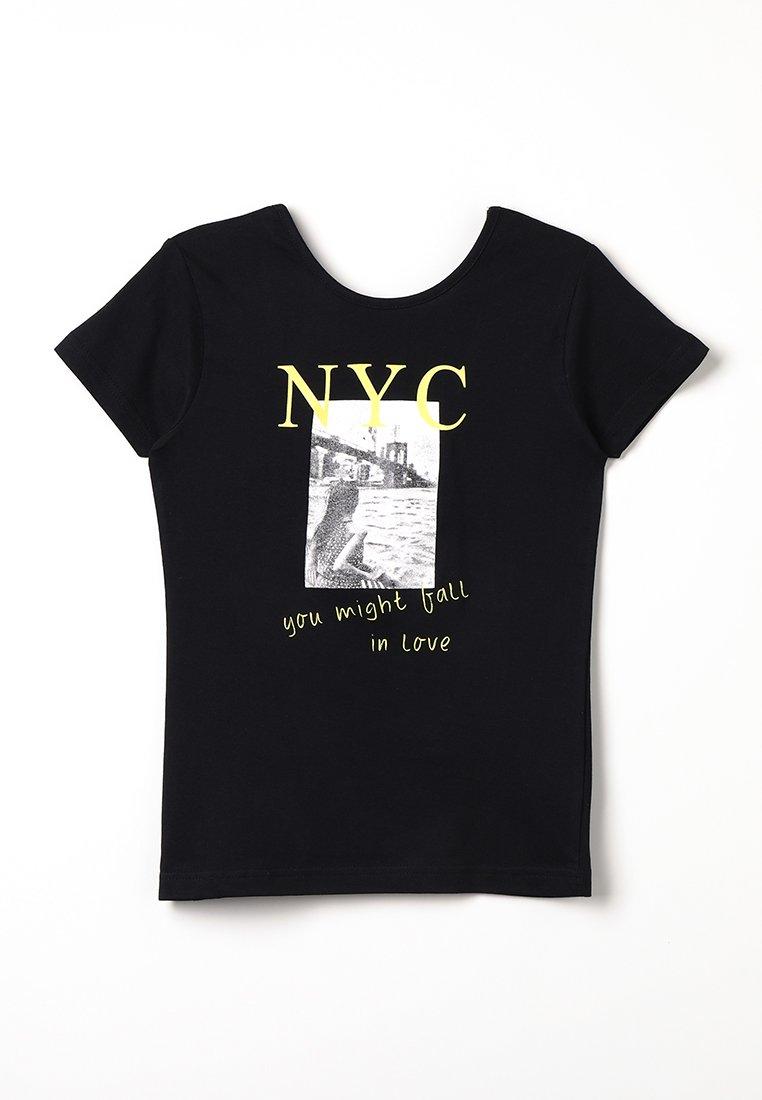 Blue Seven - Print T-shirt - schwarz