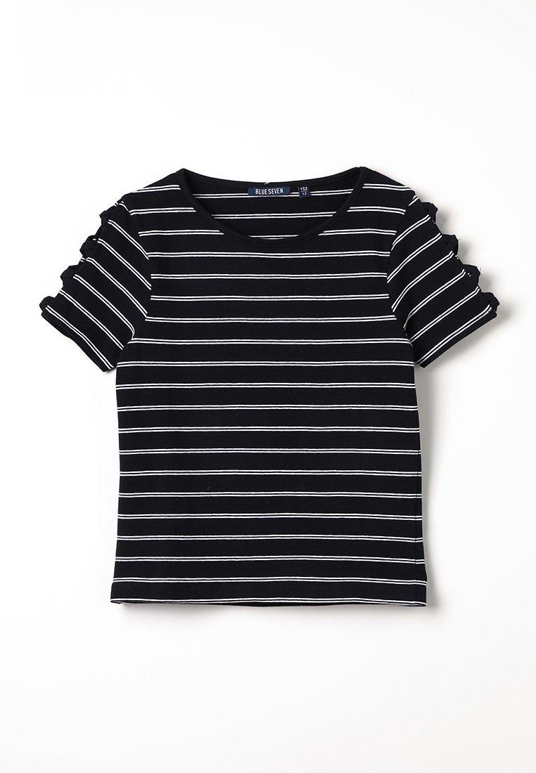 Blue Seven - T-shirt print - schwarz