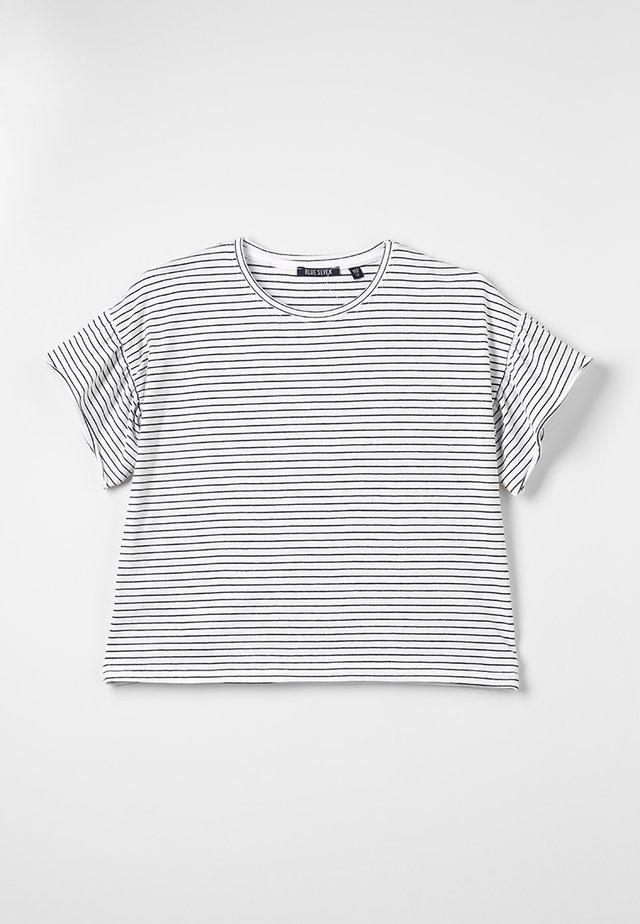 RUNDHALS - T-Shirt print - white