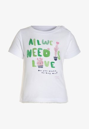 MINI BABY - T-Shirt print - weiss