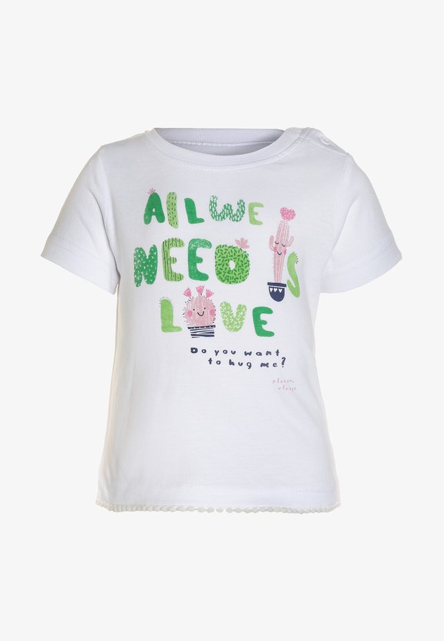 MINI BABY - Print T-shirt - weiss