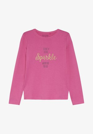 LONGSLEEVE SPARKLE - Top sdlouhým rukávem - pink