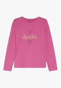 Blue Seven - LONGSLEEVE SPARKLE - Pitkähihainen paita - pink - 0
