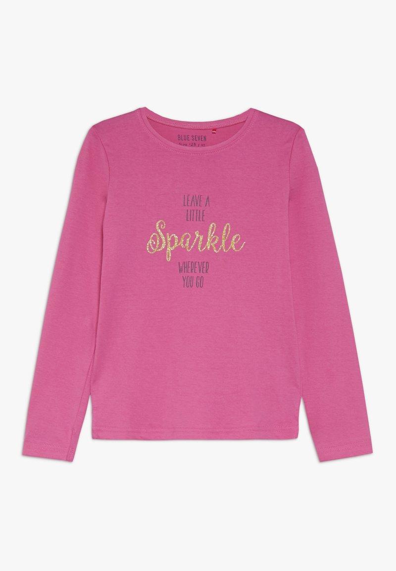 Blue Seven - LONGSLEEVE SPARKLE - Pitkähihainen paita - pink