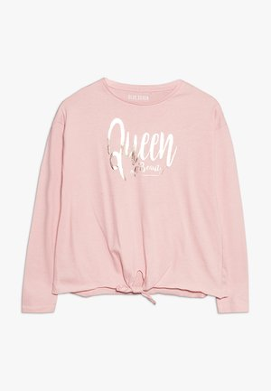 RUNDHALS - Long sleeved top - lachs