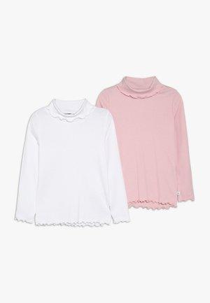 ROLLKRAGEN 2 PACK - Långärmad tröja - weiß/rosa