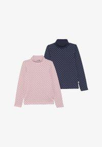 Blue Seven - 2 PACK - Långärmad tröja - rosa/dunkel blau - 3