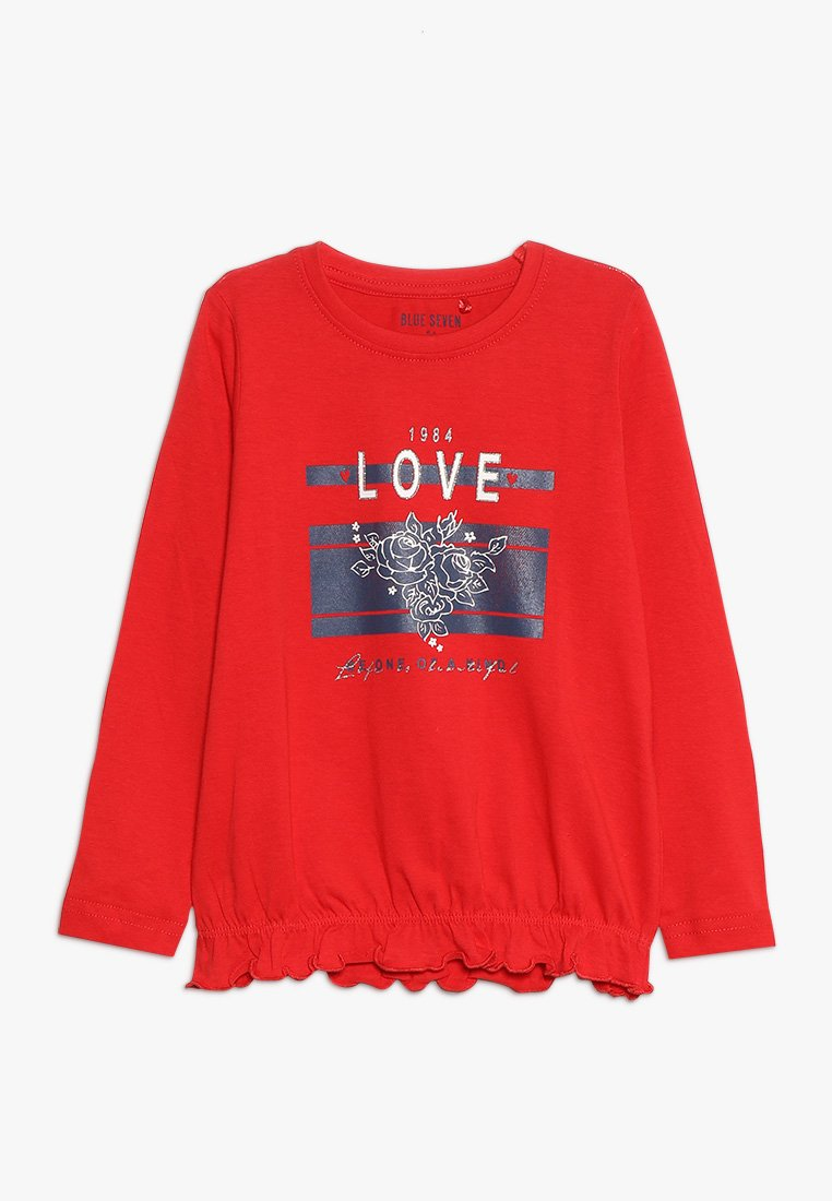 Blue Seven - Long sleeved top - rot