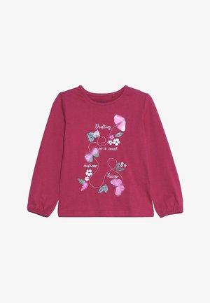 Långärmad tröja - magenta