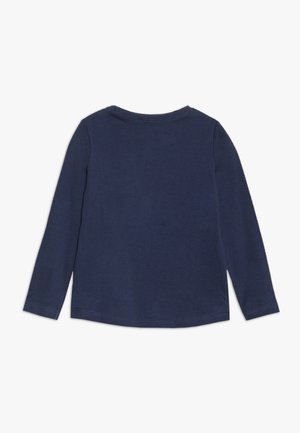 Long sleeved top - dark blue
