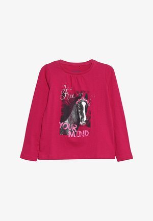 Long sleeved top - magenta