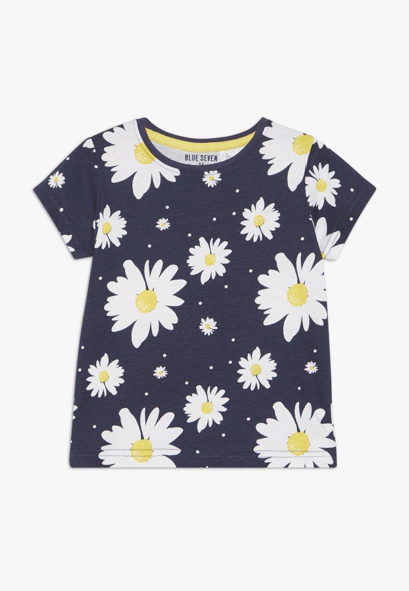 Blue Seven - T-shirt imprimé - dunkel blau