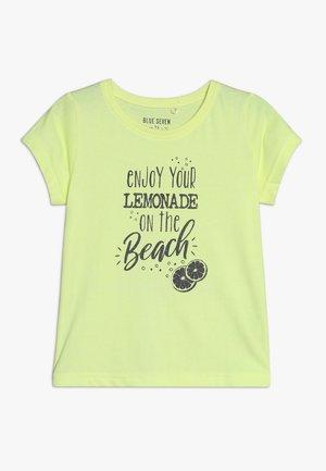 T-shirt imprimé - neon lemon