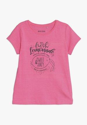 T-shirt imprimé - neon pink