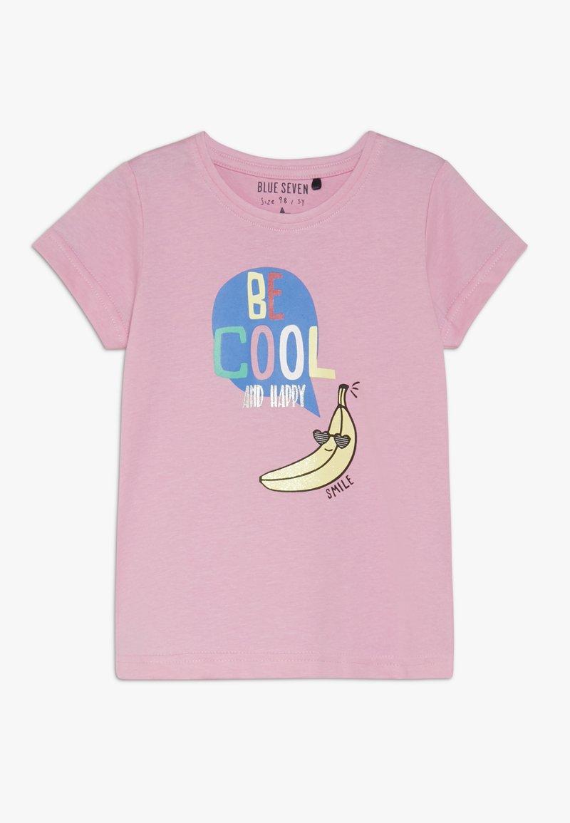 Blue Seven - Print T-shirt - azalee