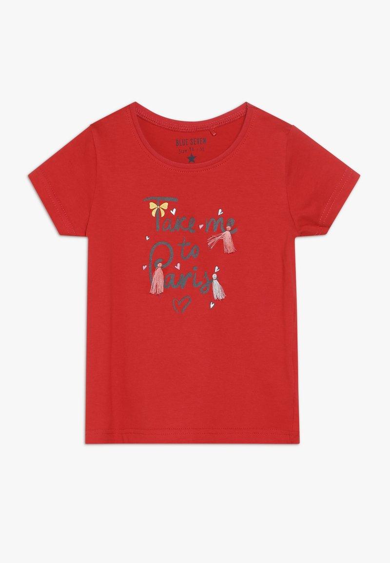 Blue Seven - T-shirt imprimé - rot