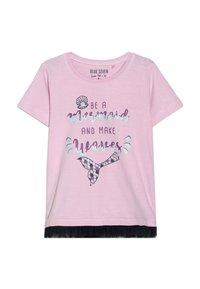 Blue Seven - Print T-shirt - rosa - 0