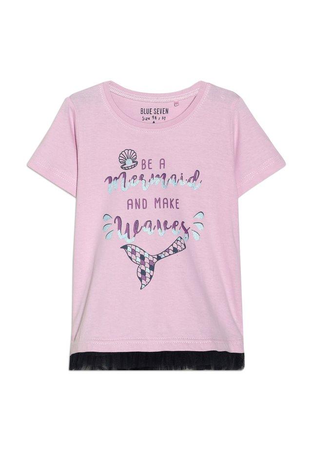 T-shirts print - rosa