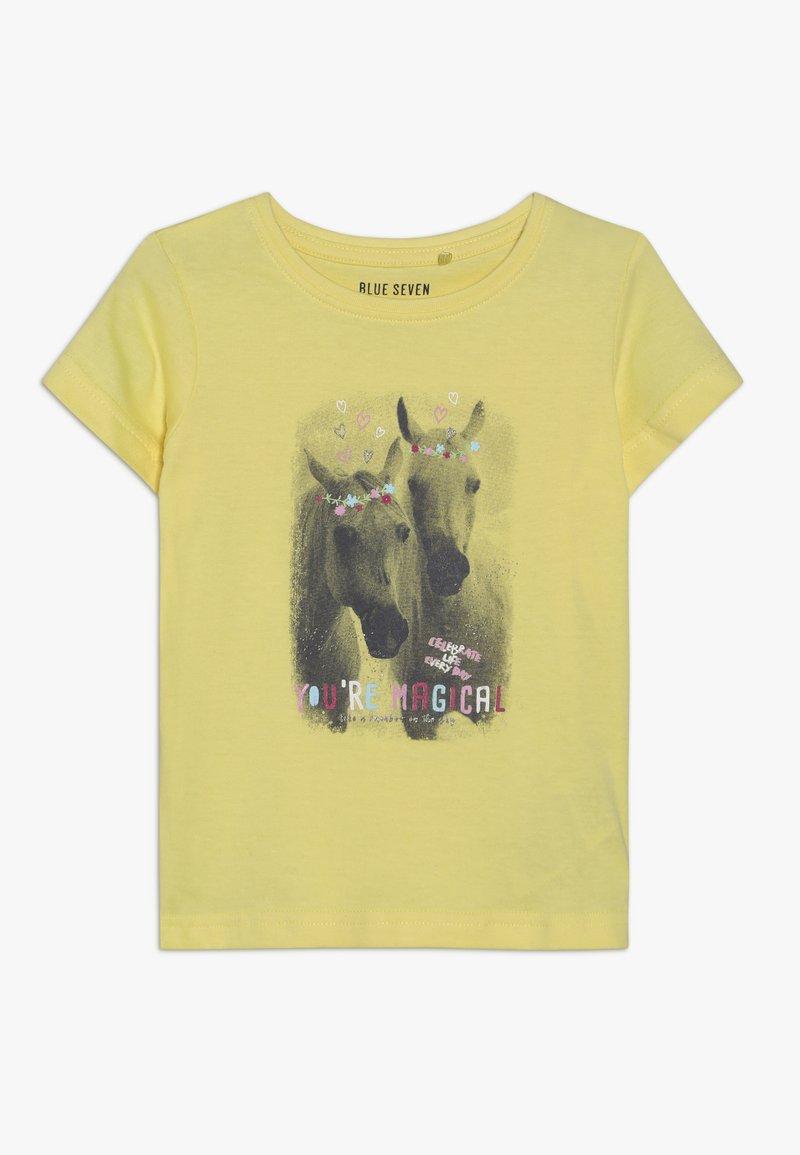 Blue Seven - T-shirt print - korn