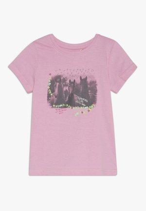 Print T-shirt - azalee